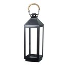 Parlane Camden Lantern - Black (630x200mm)