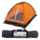 Milestone Dome 2 Person Tent - Orange