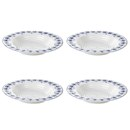 Sophie Conran for Portmeirion Rimmed Soup Plate - Eliza - White (Set of 4)
