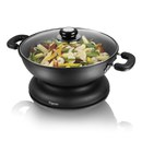 Elgento E14018 Electric Wok - Black - 30cm