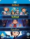 Laika 3D Boxset- Paranorman/ Coraline/ Boxtrolls