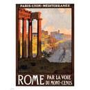 Vintage Travel Rome Print