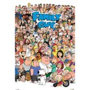 Family Guy Characters - 24 x 36 Inches Maxi Poster
