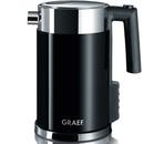 Graef WK702.UK 1.5L Kettle - Multi Temperature Settings and Child Lock - Black