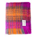 Avoca Mohair Throw - Blueberry (142cm x 183cm)