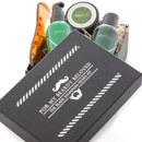 Men Rock Awakening Beard Care Kit – Beardy Beloved (Beard Shampoo, Beard Balm, Moustache Wax, Beard Comb)
