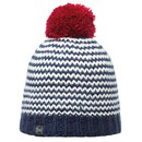 Buff Knitted and Polar Dorn Hat - Navy