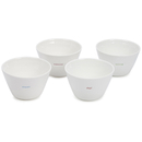 Keith Brymer Jones Set of Four Snack Bowls - White
