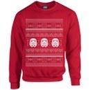 Star Wars Kids' Christmas Stormtrooper Sweatshirt - Red