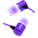 Kitsound Ace Earphones with Mic - Purple