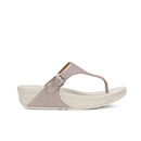 FitFlop Womens The Skinny Leather Toe Post Sandals  Plumthistle  UK 7