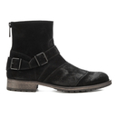 Belstaff Mens Trialmaster Leather Short Boots  Black  UK 7