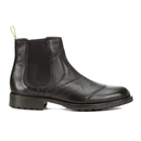 Belstaff Mens Lancaster Leather Chelsea Boots  Black  UK 7
