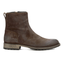 Belstaff Mens Attwell Suede Short Boots  Oak Brown  UK 7