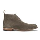 Grenson Mens Marcus Suede Desert Boots  Almond  UK 8