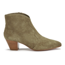Ash Womens Hurrican Suede Boots  Beige  UK 5