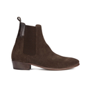 H Shoes by Hudson Mens Watts Suede Chelsea Boots  Brown  UK 9