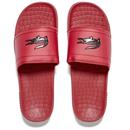 Lacoste Mens Frasier Slide Sandals  RedBlack  UK 7