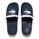Lacoste Mens Frasier Slide Sandals  BlueWhite  UK 7