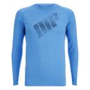 Myprotein 男子运动长袖上衣 – 蓝色