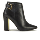 Ted Baker Womens Preiy Leather Heeled Ankle Boots  Black  UK 3