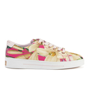 Ted Baker Womens Ophily Floral Print Trainers  Encyclopedia Floral  UK 3
