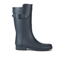 Hunter Womens Original Refined Back Strap Short Wellies  NavyBlue Sky  UK 3