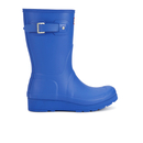 Hunter Womens Original Short Wedged Sole Wellies  Bright Cobalt  UK 3