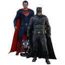 Hot Toys Batman v Superman Dawn of Justice Batman And Superman Exclusive Set 12 inch Statues