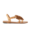 Vivienne Westwood Womens Animal Toe Flat Sandals  Tan  UK 3