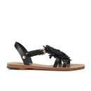 Vivienne Westwood Womens Animal Toe Flat Sandals  Black  UK 3