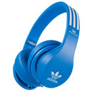 adidas Originals by Monster Headphones (3-Button Control Talk & Passive Noise Cancellation) Blue