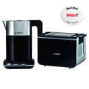 Bosch Styline Collection Kettle and Toaster Bundle  Black