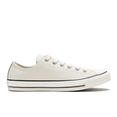 Converse Mens Chuck Taylor All Star Motorcycle Leather Ox Trainers  ParchmentBlackWhite  UK 7