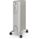 Warmlite WL43003Y Oil Filled Radiator - White - 1500W
