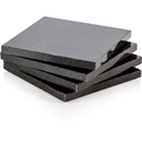 Natural Life NLGR002 4 Piece Square Granite Coaster Set
