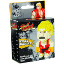 Street Fighter Ken Pixel Bricks