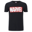 Marvel Comics Men's Core Logo T-Shirt - Black