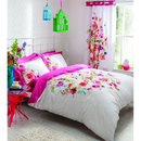 Catherine Lansfield Bright Floral Bedding Set - Multi - Double