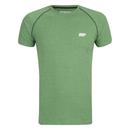 Myprotein 男子运动表现插肩袖 T 恤 - 绿色