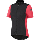 adidas Women's Supernova Ref Short Sleeve Jersey Black-Shock Red S