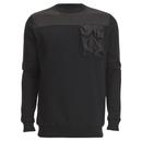Image of 4Bidden Men's Liberty Crew Neck Sweatshirt - Black - L