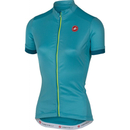 Cycling Castelli Women's Anima Short Sleeve Jersey - Blue - S