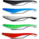 Cycling Fabric Cell Radius Elite Saddle - Red/White