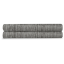 Calvin Klein Acacia Textured Fitted Sheet - Grey - Double