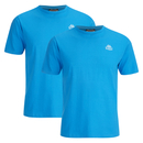 Kappa Men's Nico 2 Pack T-Shirts - Blue