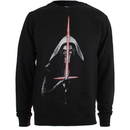 Star Wars Men's Kylo Ren Lightsabre Sweatshirt - Black