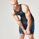 Myprotein 男子铁人三项运动竞赛服 - 蓝色
