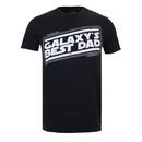 Star Wars Men's Galaxy's Best Dad T-Shirt - Black