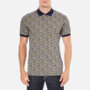 Image of Pretty Green Men's Stretford Polo Shirt - Navy